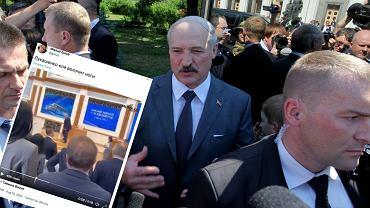 Białoruś. Aleksander Łukaszenka podupadł na zdrowiu. 'Ledwo powłóczy nogami' [Nagranie]