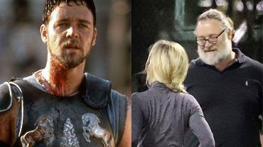 Russell Crowe - kiedyś obiekt westchnień wielu kobiet, a dziś... trudno go rozpoznać. Co się stało ze słynnym Maximusem?