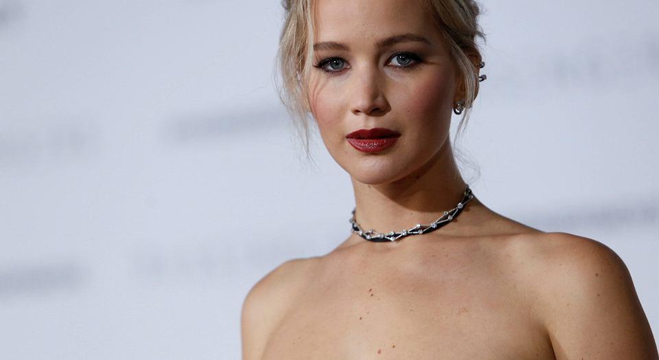 Jennifer Lawrence na premierze filmu 'Pasażerowie', 14.12.2016