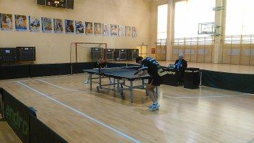 tenis stołowy, I liga IKTS Broń Radom - Dwunastka Wrocław