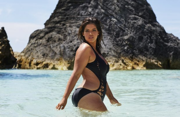 Denise Bidot w kampanii marki Swiumsuits for All