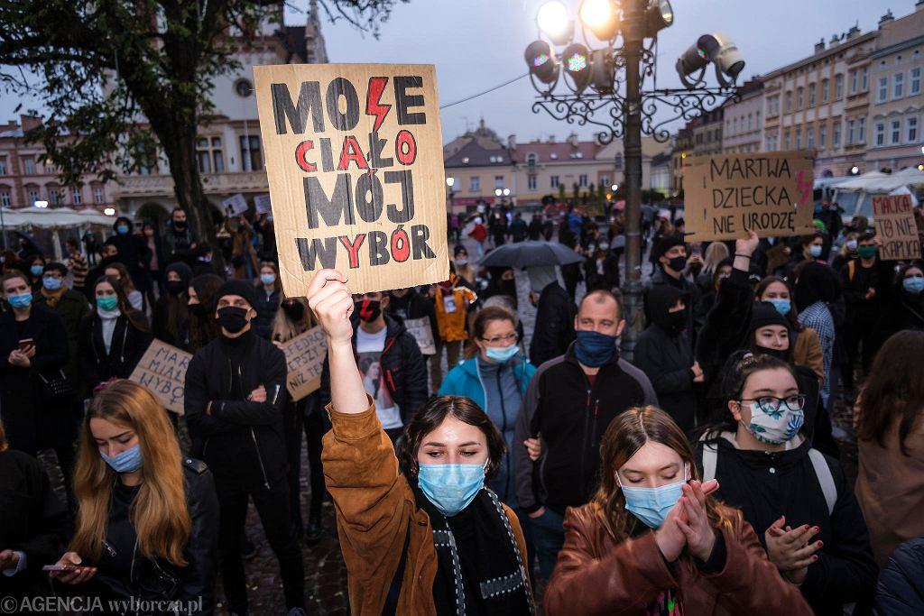 Strajk kobiet. (zdjęcie ilustracyjne)