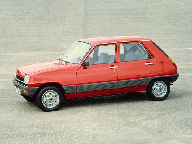 Przedliftingowe Renault 5