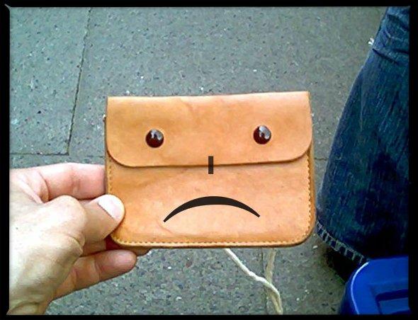 Jestem biedaczką-bogaczką