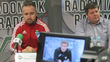 Radomiak - GKS Tychy 1:0. Pomeczowa konferencja prasowa