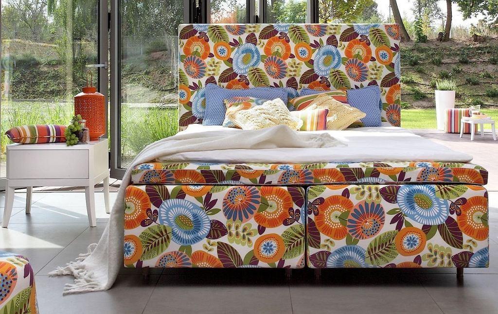 Łóżko Duke Flower Power