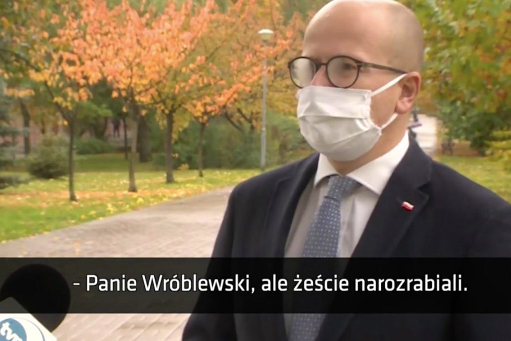 Bartłomiej Wróblewski w 'Faktach'