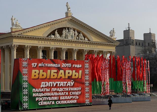 Wybory na Białorusi