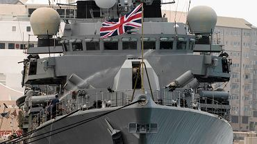 Brytyjski okręt HMS Westminster