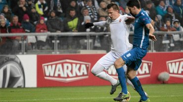 Lech Poznań - Fiorentina 0:2 w Lidze Europejskiej. Josip Ilicić i Marcin Kamiński