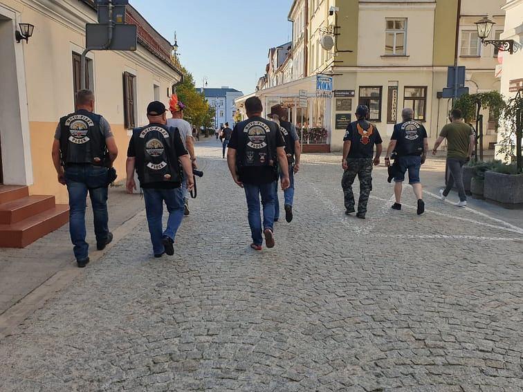 Zlot motocyklistów w Płocku