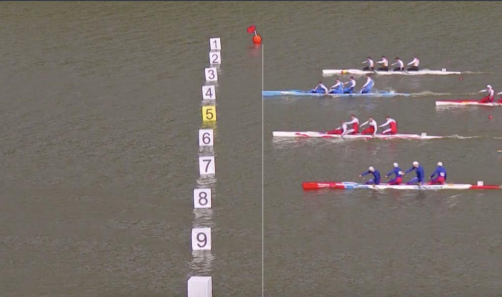 Kajakarstwo, mistrzostwa świata w Kopenhadze. Źródło: TVP SPORT