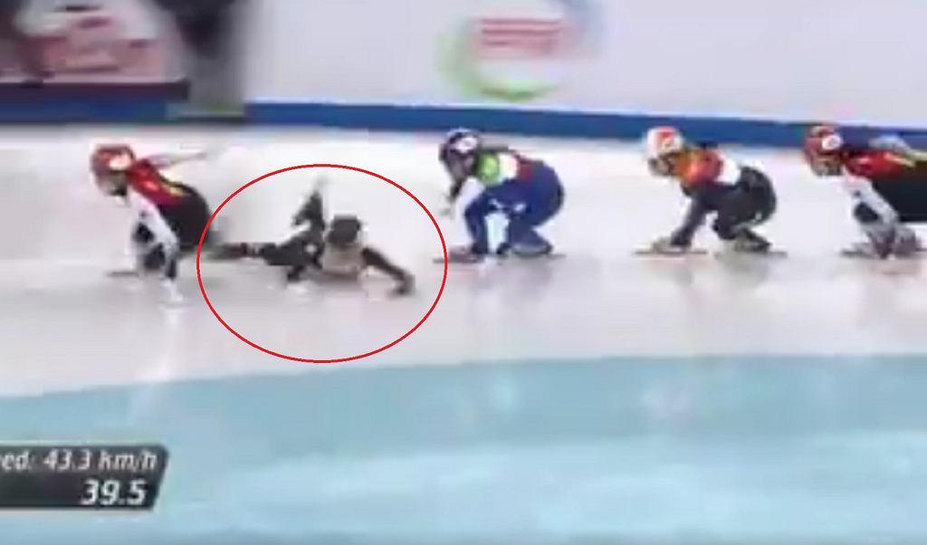 Upadek Natalii Maliszewskiej w finale