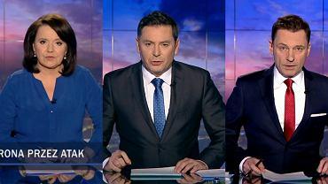 Prowadzący 'Wiadomości' TVP