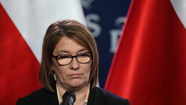 Rzecznik rządu PiS Beata Mazurek