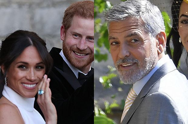 Meghan Markle, książę Harry, George Clooney