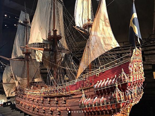 Muzeum Vasa, Sztokholm, Szwecja