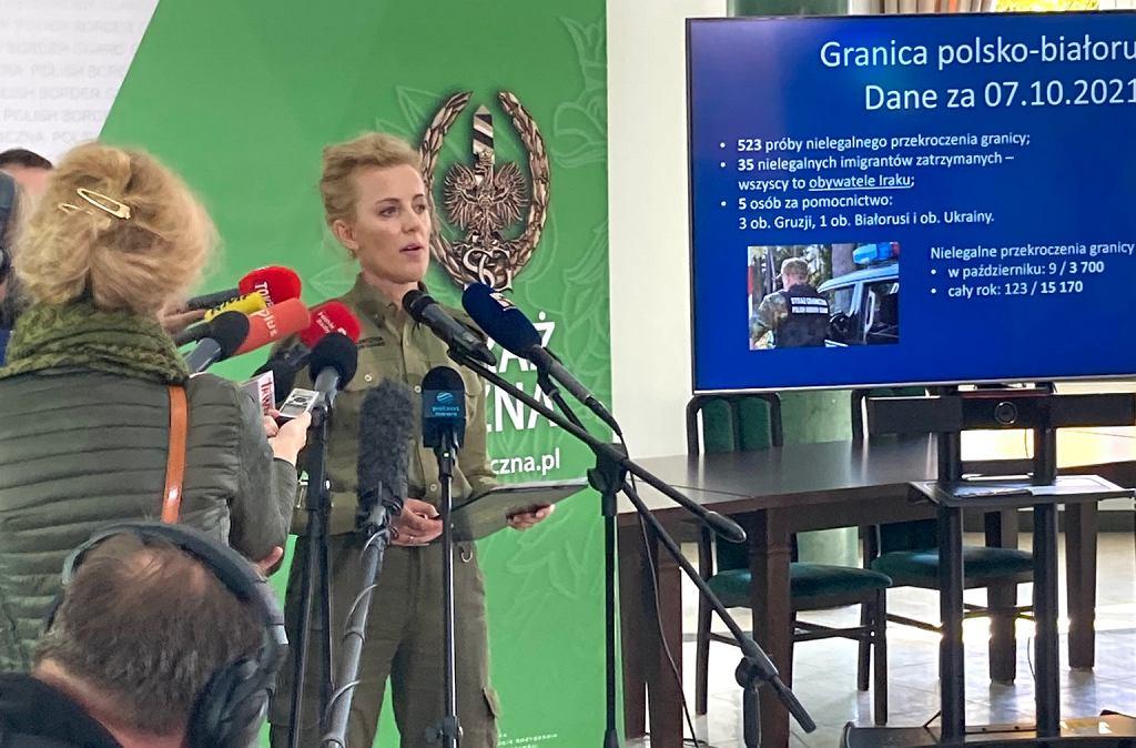 Anna Michalska, rzeczniczka Straży Granicznej