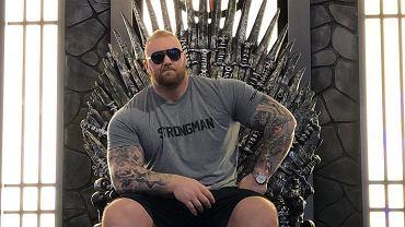 Aktor 'Gry o Tron' Hafthor Bjornsson pobił rekord świata w martwym ciągu