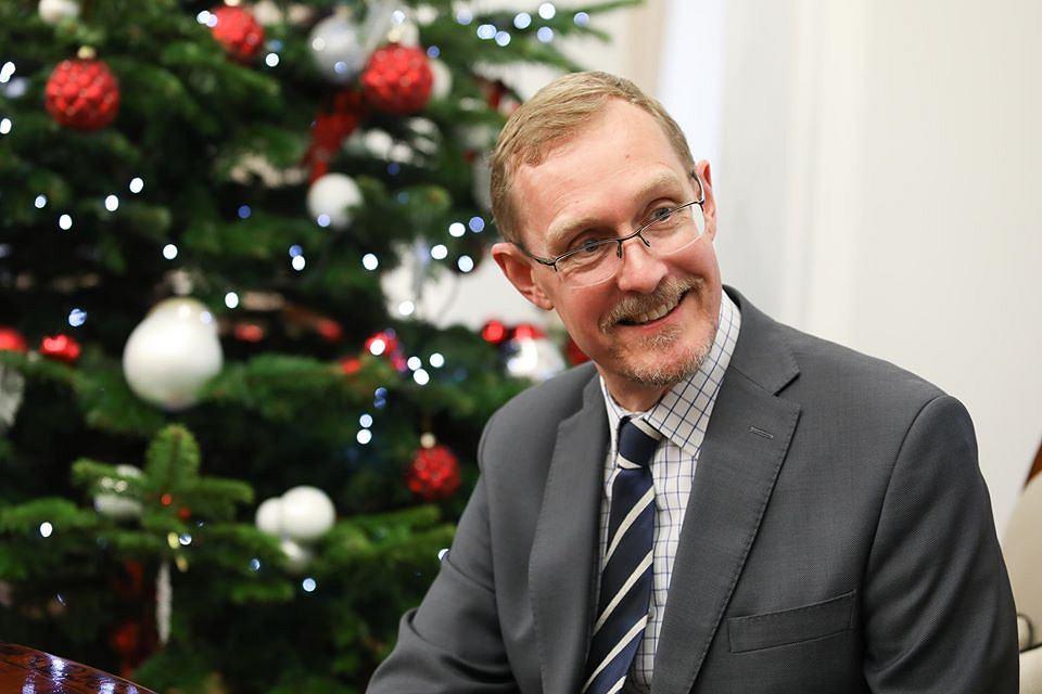 Ambasador Australii Lloyd Brodrick