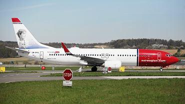 Samolot linii Norwegian