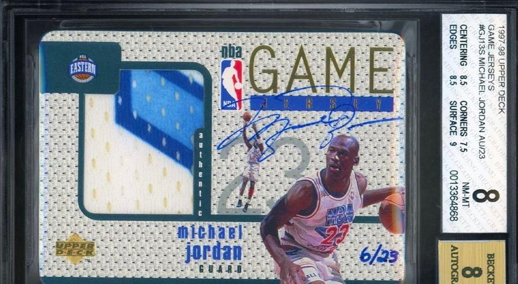 Najdroższa kolekcjonerka karta w historii Michaela Jordana