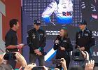 F1. Pierwsza w historii taka prezentacja. Robert Kubica przedstawiony jako legenda