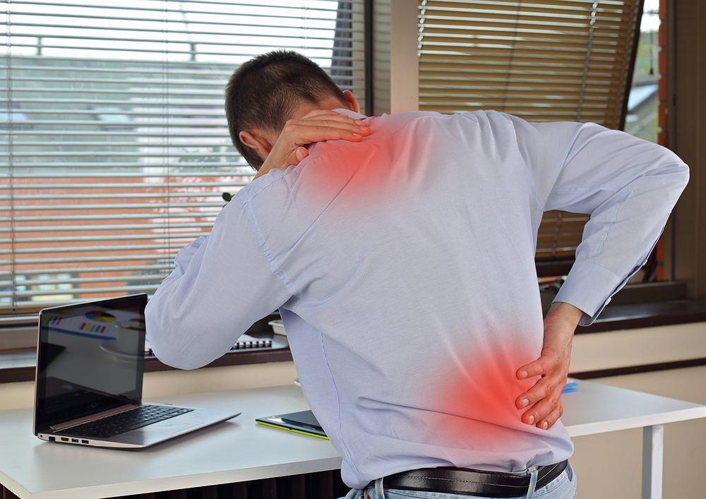 Katadolon był polecany również w przypadku bólu dolnego odcinka kręgosłupa