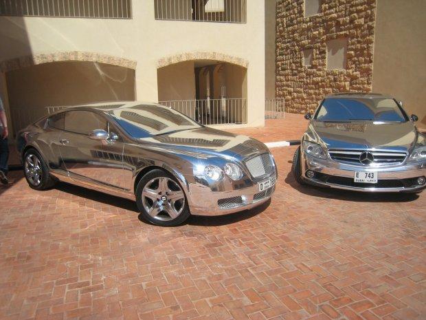 Bentley Continental GT i Mercedes CL