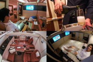 Singapore Airlines to najbardziej luksusowa linia na świecie. Zobacz, jak wygląda podróż za 60 tys. zł [FOTORELACJA]
