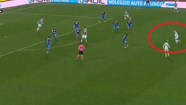 Piotr Zieliński strzelił cudownego gola dla Napoli