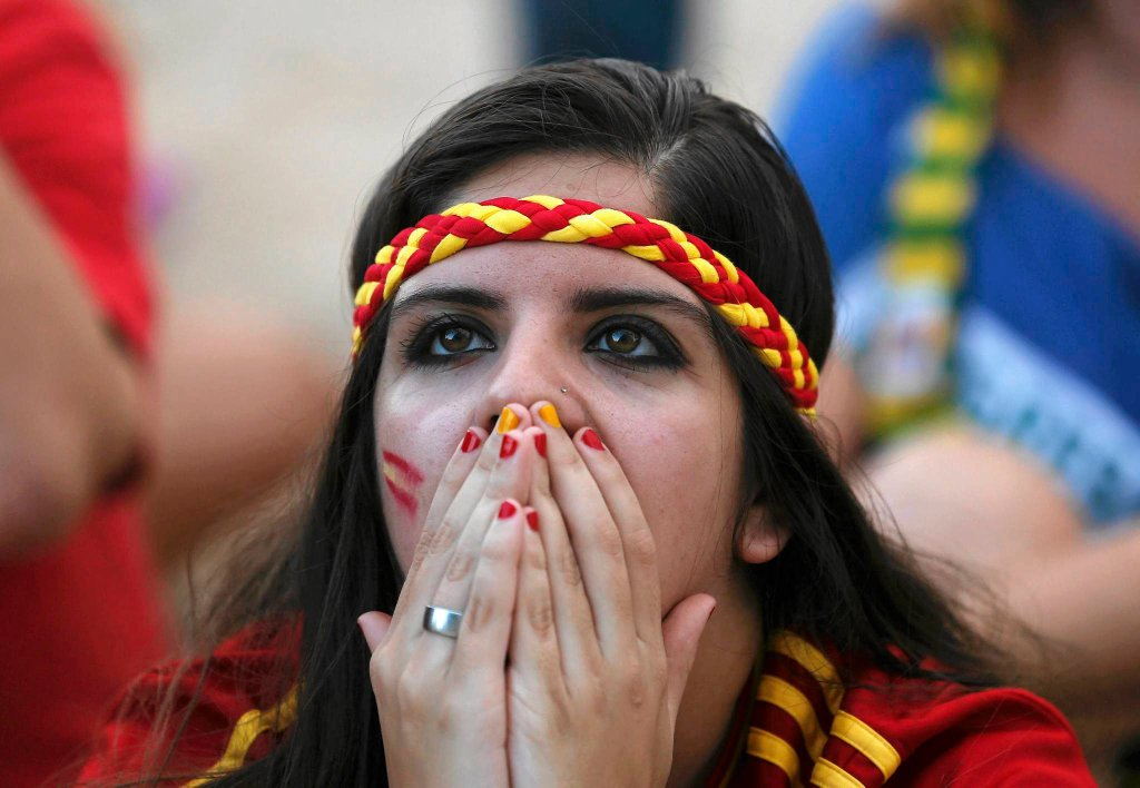 Smutna fanka Hiszpanii
