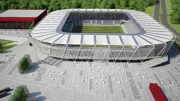 Stadion ŁKS - wizualizacja