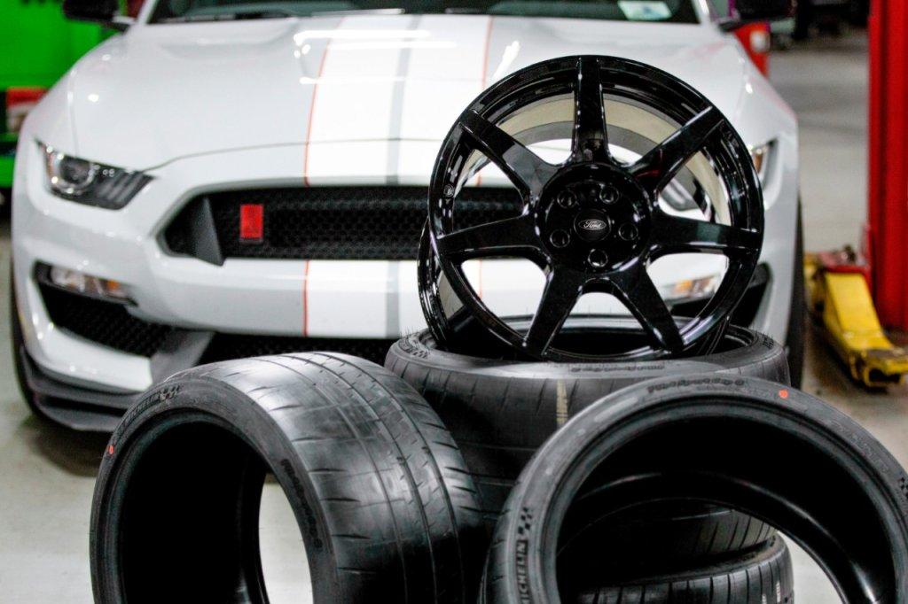 Koła Shelby GT350R Mustang