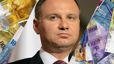Andrzej Duda ustawa frankowa