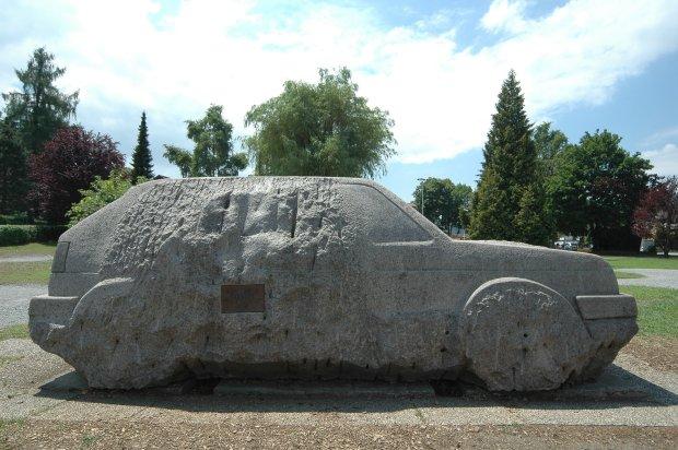 Volkswagen Golf GTI rzeźba