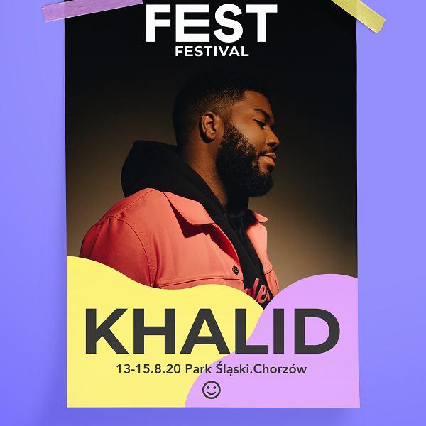 FEST 2020 - Khalid headlinerem
