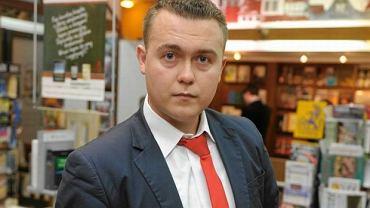 """Dziennikarz związany """"Wprost"""" Piotr Nisztor"""