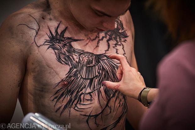 Igła Kropla Barwnika I Tatuaż Gotowy Tattoo Festival Gości