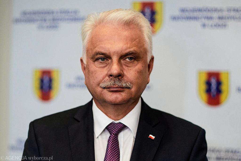 Waldemar Kraska: planujemy budowę linii do rozlewania szczepionek