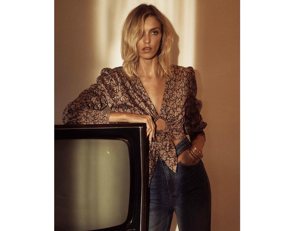 Zara wiosna/lato 2020 - bluzka