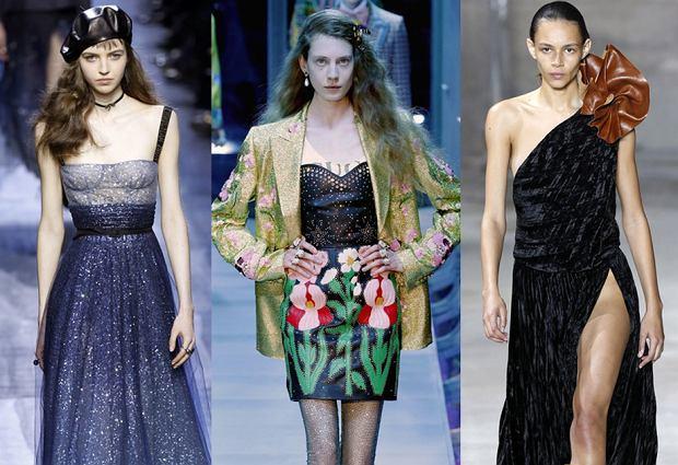 52d15a0f 5 pomysłów na strój na imprezę i sylwestra - inspiracje z wybiegów ...