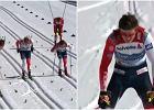 Szok w Oberstdorfie! Dyskwalifikacja. Klaebo stracił tytuł mistrza świata