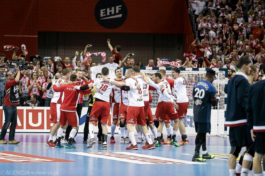 Mistrzostwa Europy w piłce ręcznej: mecz Polska - Francja