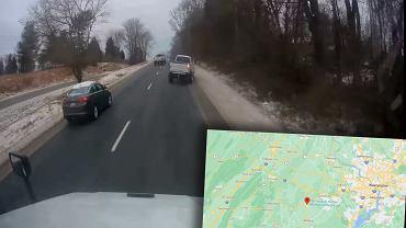 Wypadek pikapa w Wirginii, USA