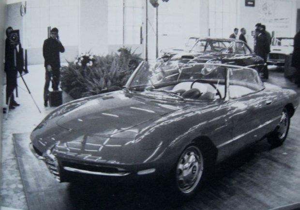1961 Alfa Romeo Giulietta Sprint Speciale Spider