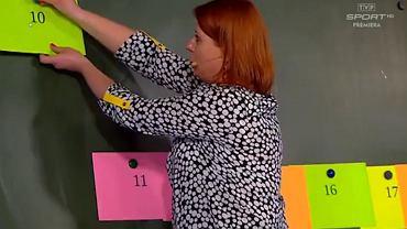 'Szkoła z TVP', lekcja matematyki na której wyjaśniano, czym są liczby parzyste.