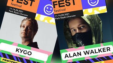 FEST Festival: Kygo i Alan Walker headlinerami festiwalu