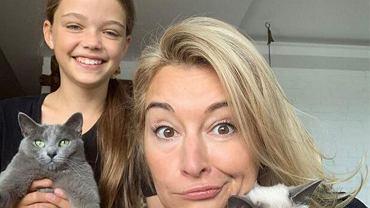 Martyna Wojciechowska chwali się umiejętnościami córki.