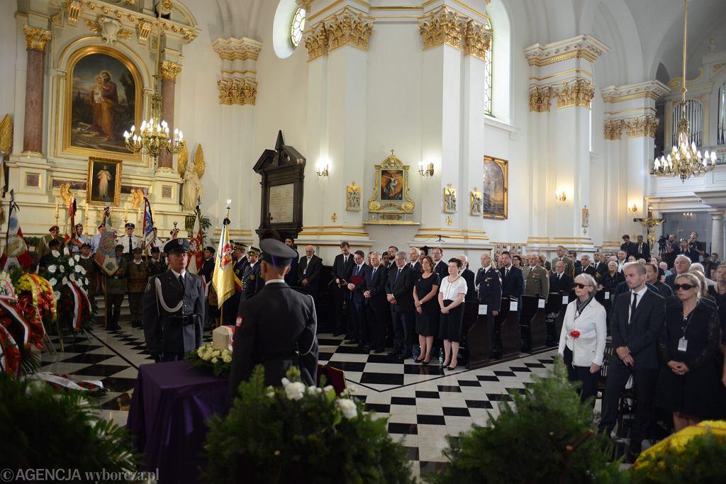 Uroczystości pogrzebowe generała Zbigniewa Ścibora - Rylskiego. Warszawa, Stare Powązki, 10 sierpnia 2018